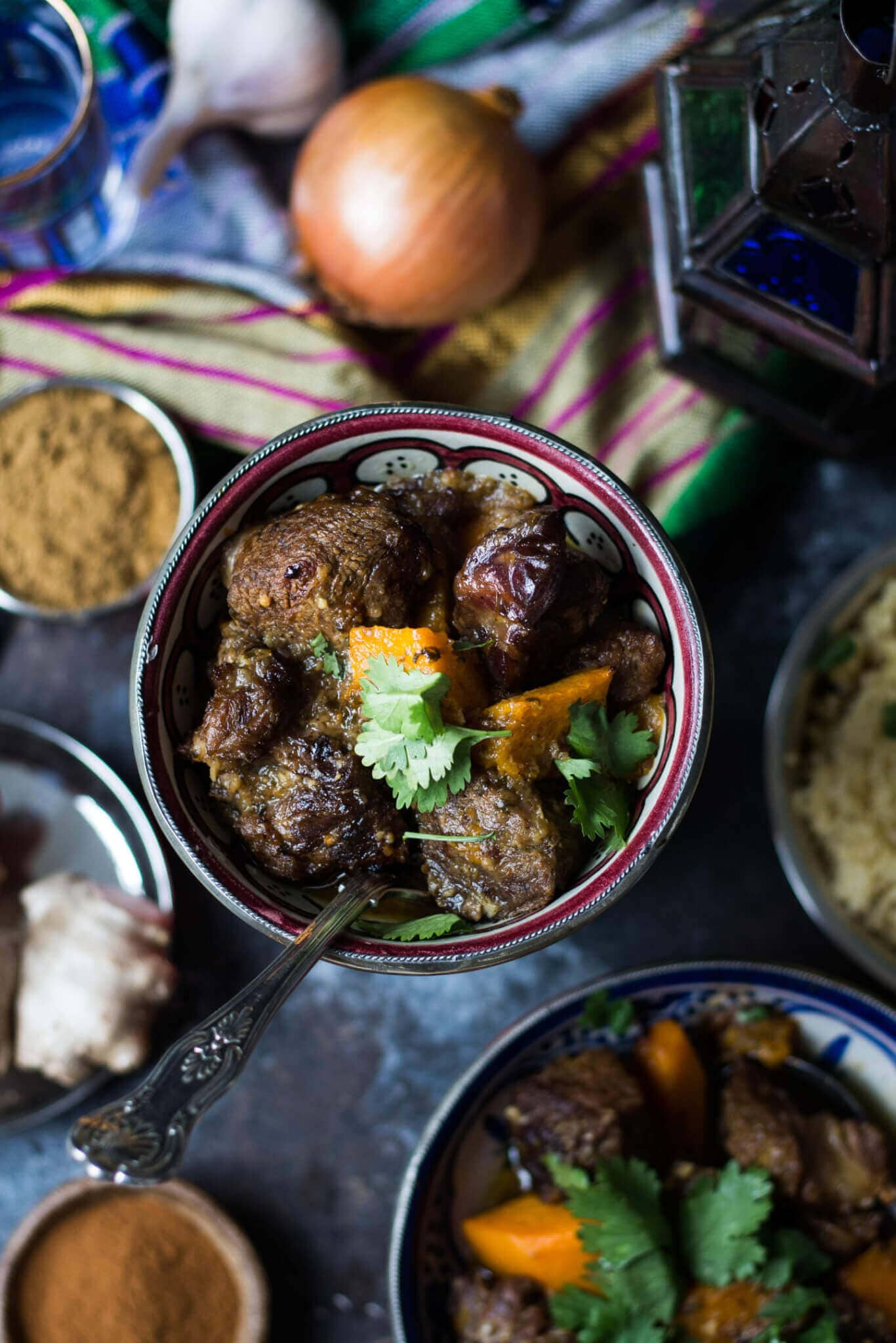 Moroccan Lamb Tagine with Pumpkin & Quinoa Gluten Free Recipe
