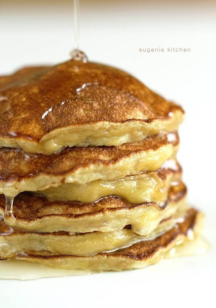 Three-Ingredient Banana Pancakes