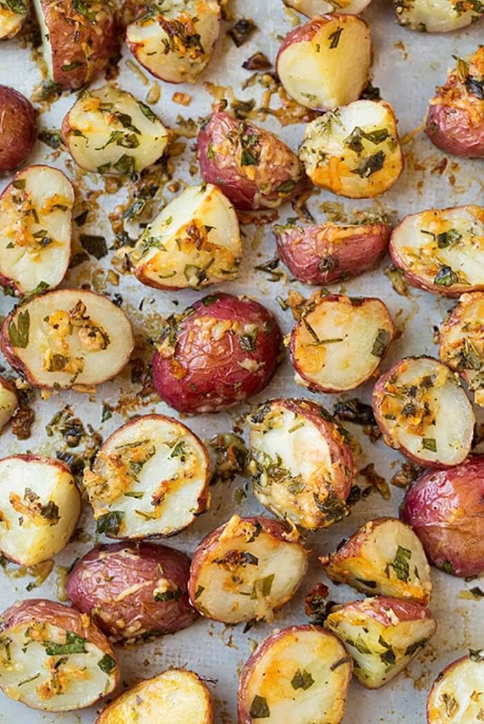 Parmesan-Herb Roasted Potatoes