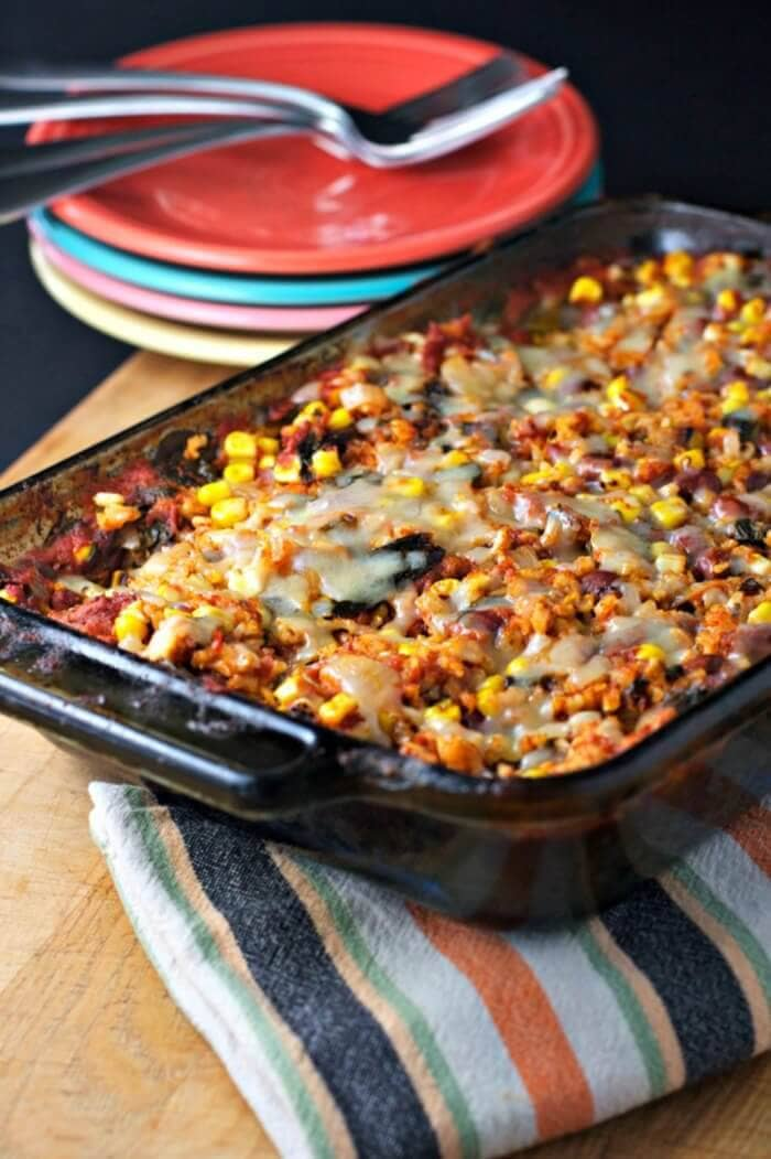 Rice and Bean Casserole