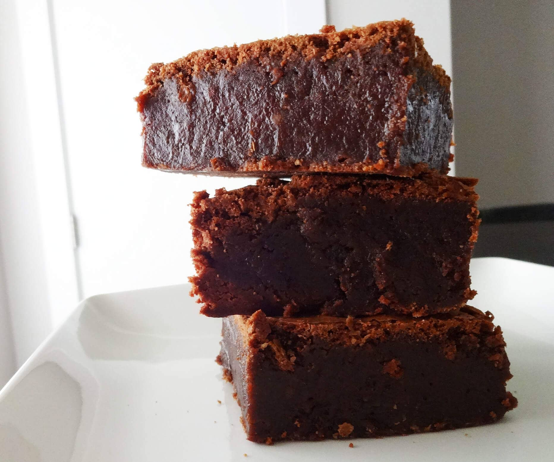 Gluten-Free Decadent Dark Chocolate Brownies