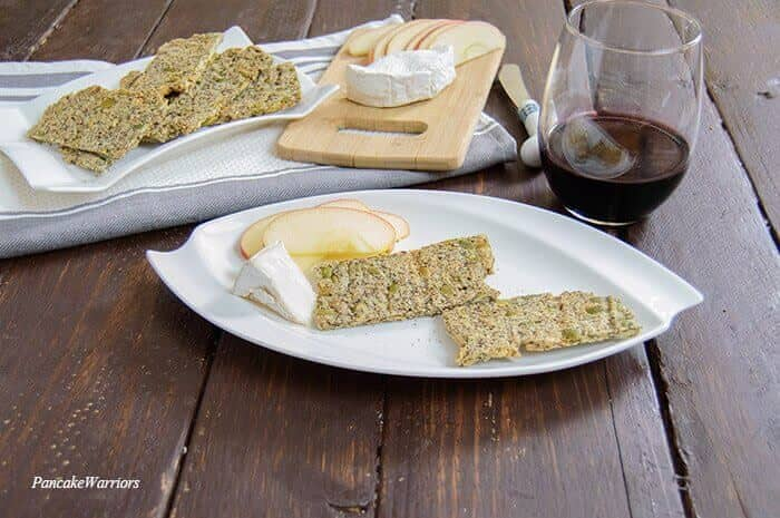 Pumpkin Sunflower Seed Crackers