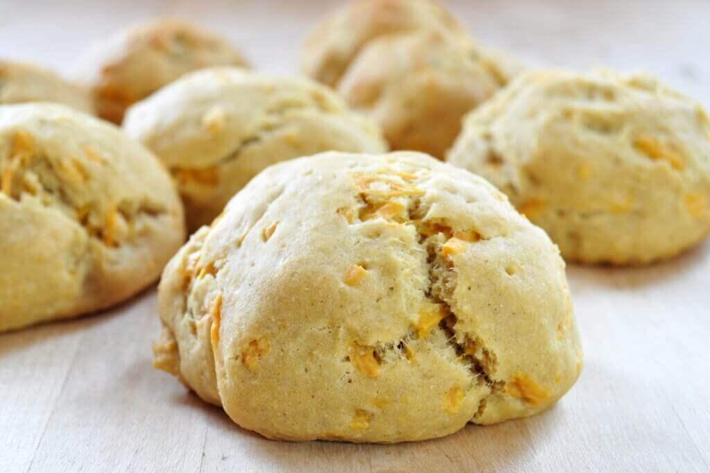 Vegan, Gluten-Free Cheddar Biscuits