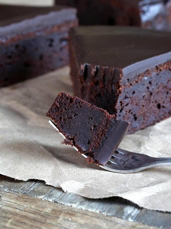 One Bowl Gluten Free Chocolate Cake