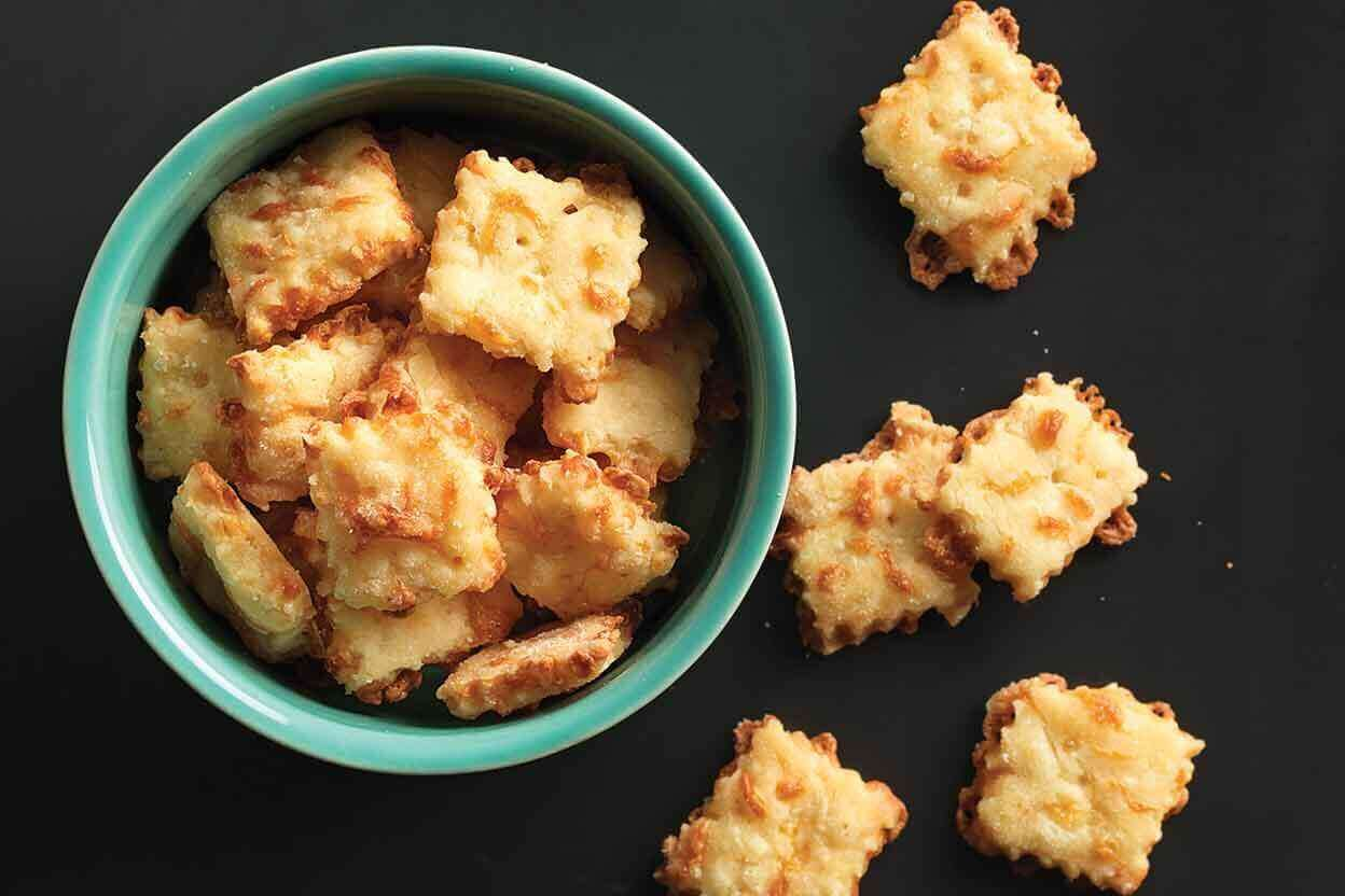 Gluten-Free Cheese Crackers