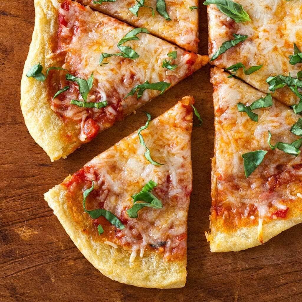 NY-Style Thin Crust Pizza