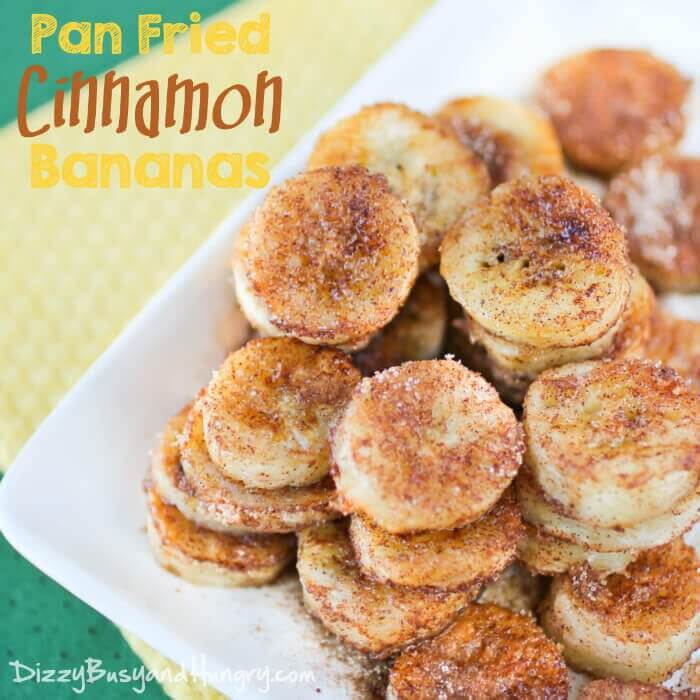 Pan-Fried Cinnamon Bananas