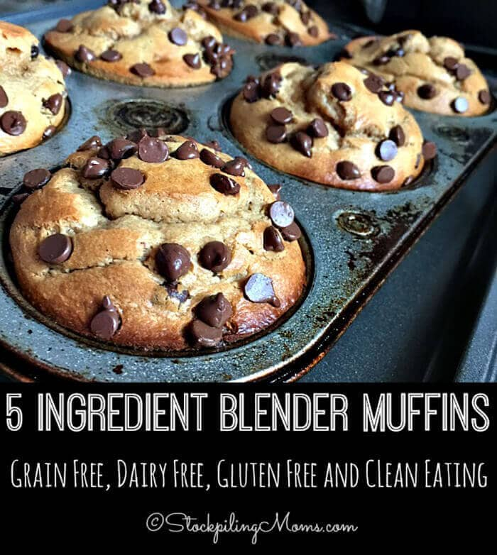 Five-Ingredient Blender Muffins
