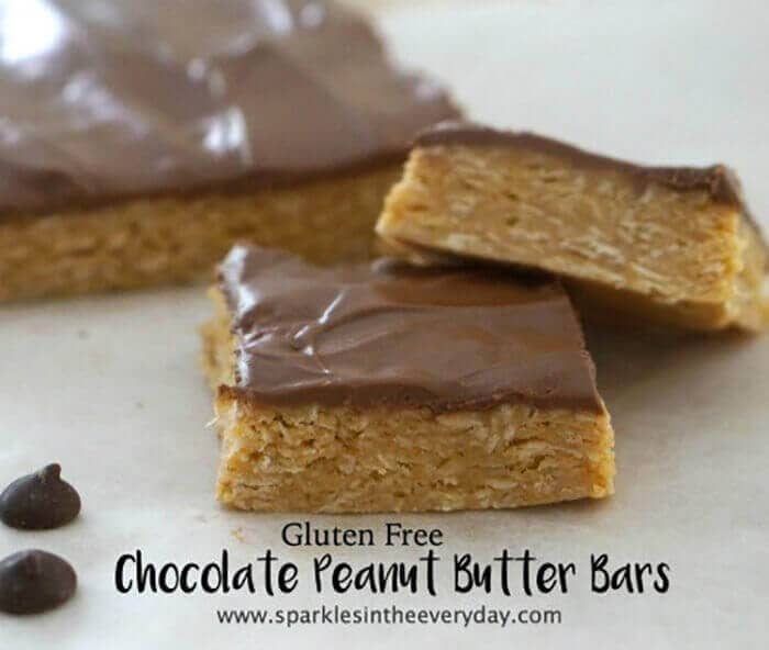 Gluten-Free Chocolate Peanut Butter Bars