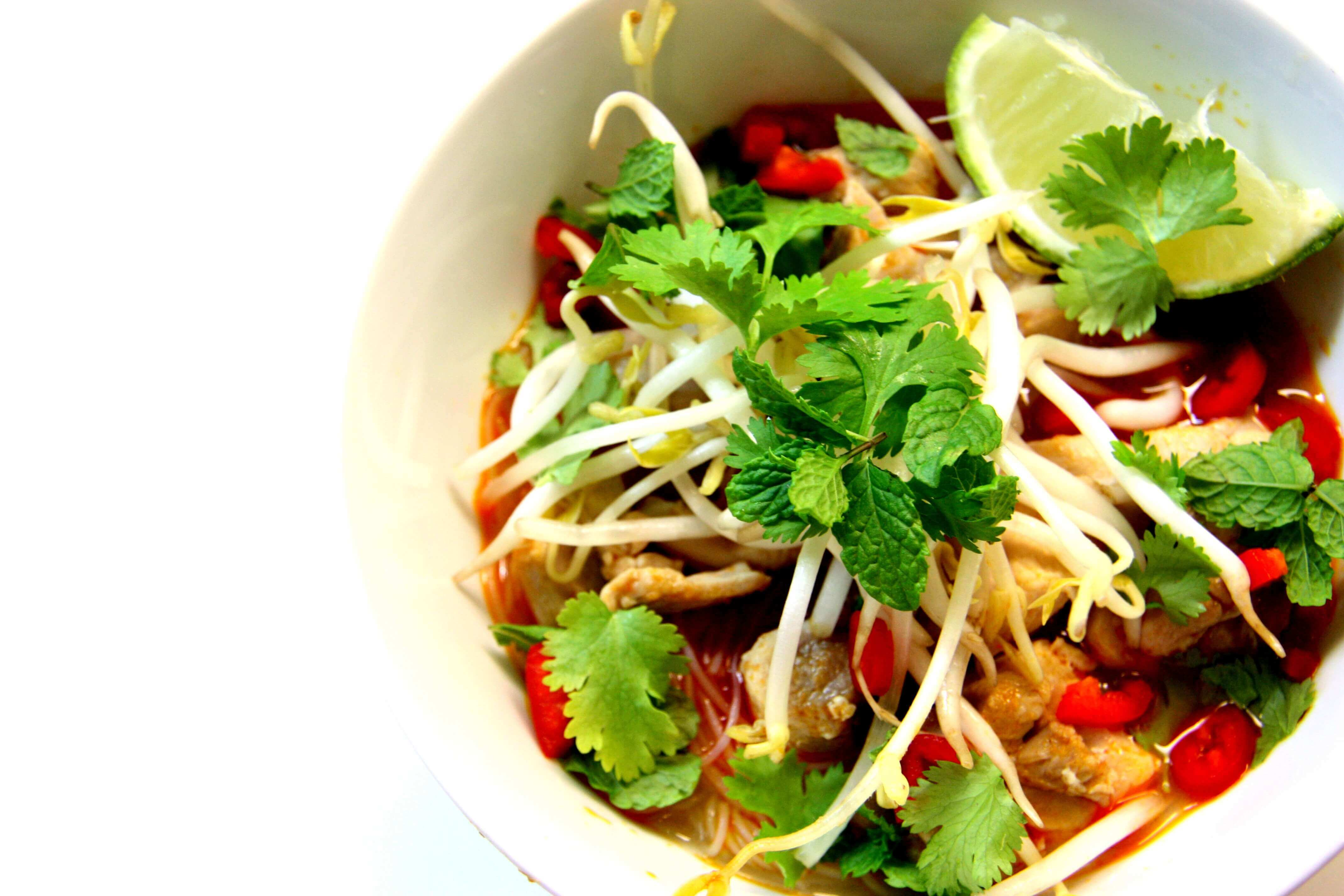 Gluten Free Chicken Laksa Recipe