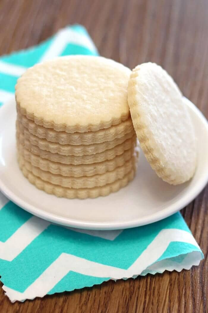 Gluten Free Vegan Sugar Cookies
