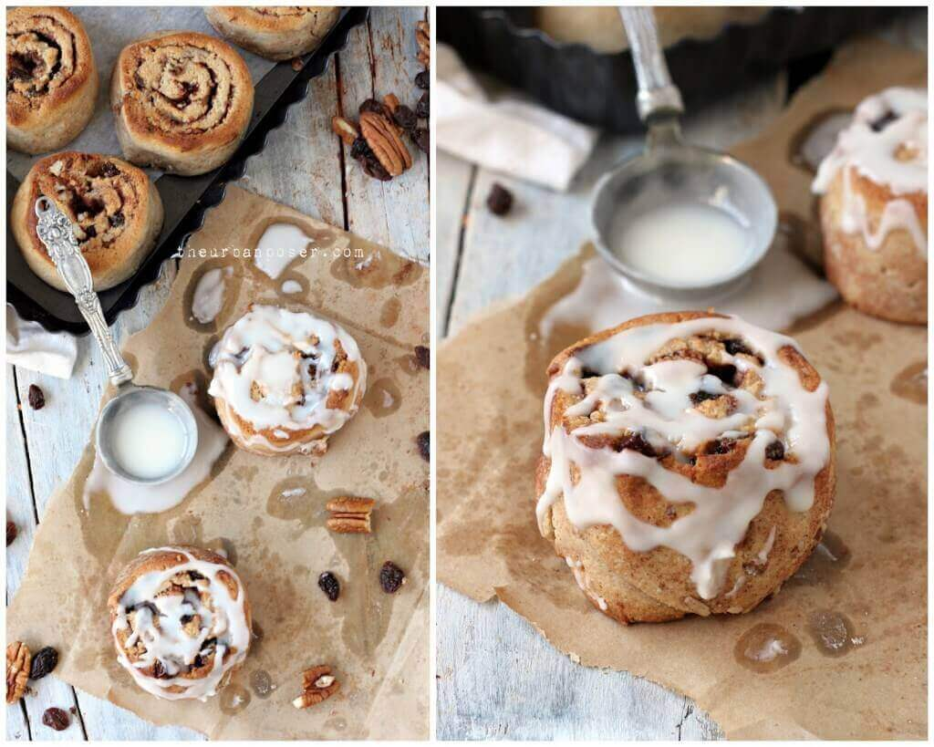 Grain-Free Cinnamon Roll Biscuits