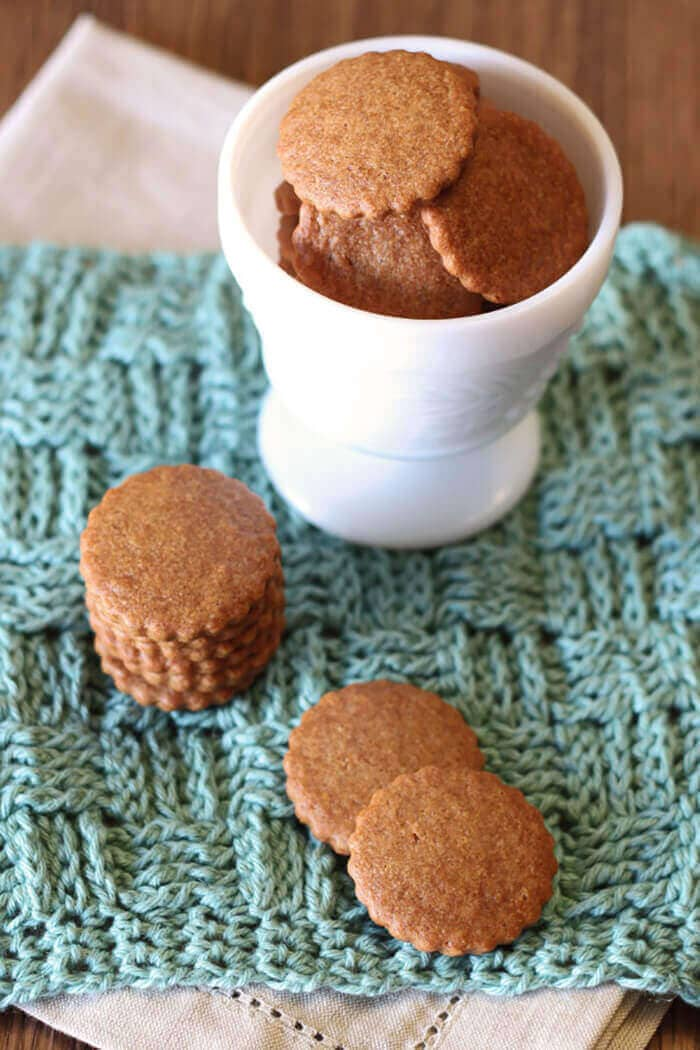 Gluten-Free Vegan Mini Graham Crackers