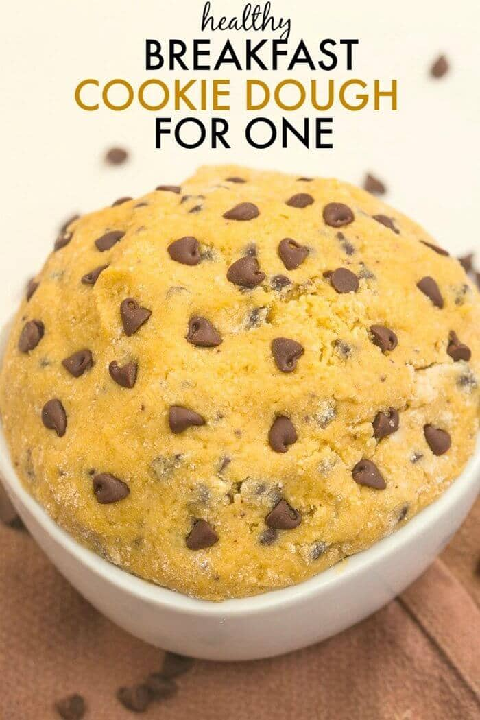 Healthy Edible Breakfast Cookie Dough