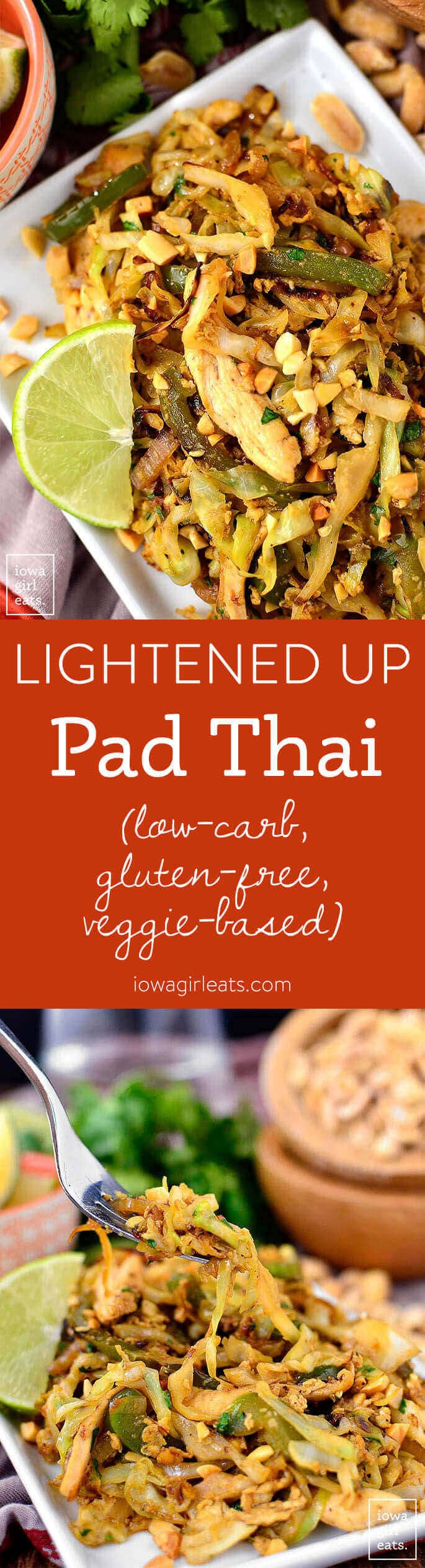 Lightened Up Pad Thai