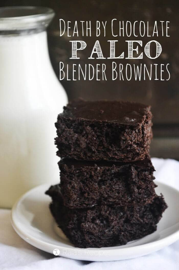 Death by Chocolate Blender Brownies