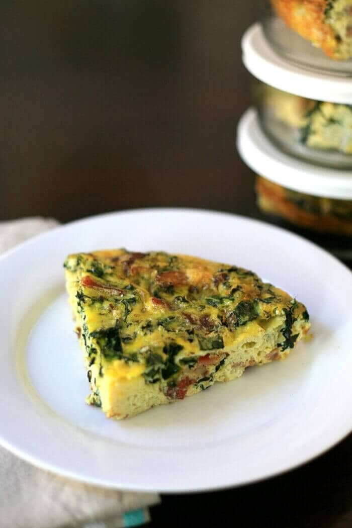 Weekday Breakfast Solution Crustless Quiche