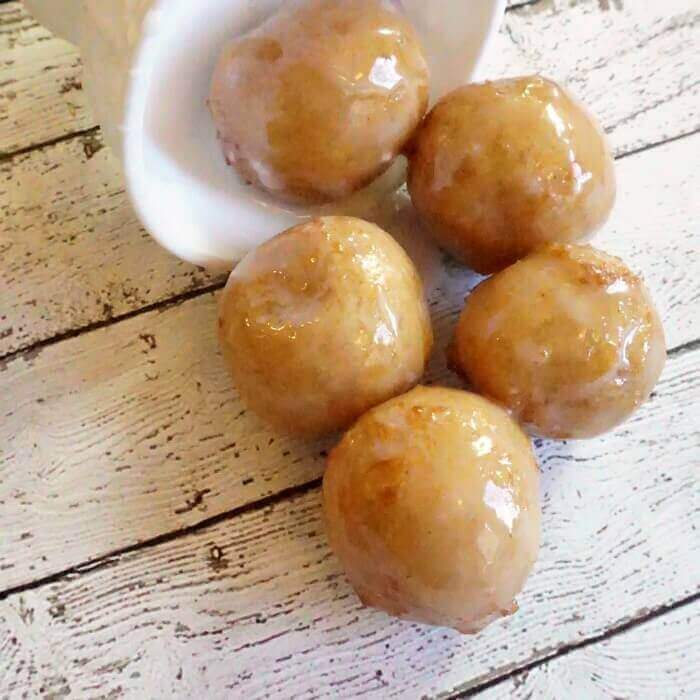 Vegan and Gluten-Free Krispie Kreme Donut Holes Copycat Recipe