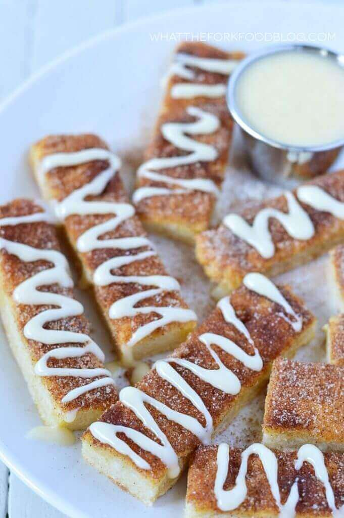 Gluten-Free Cinnamon Sticks
