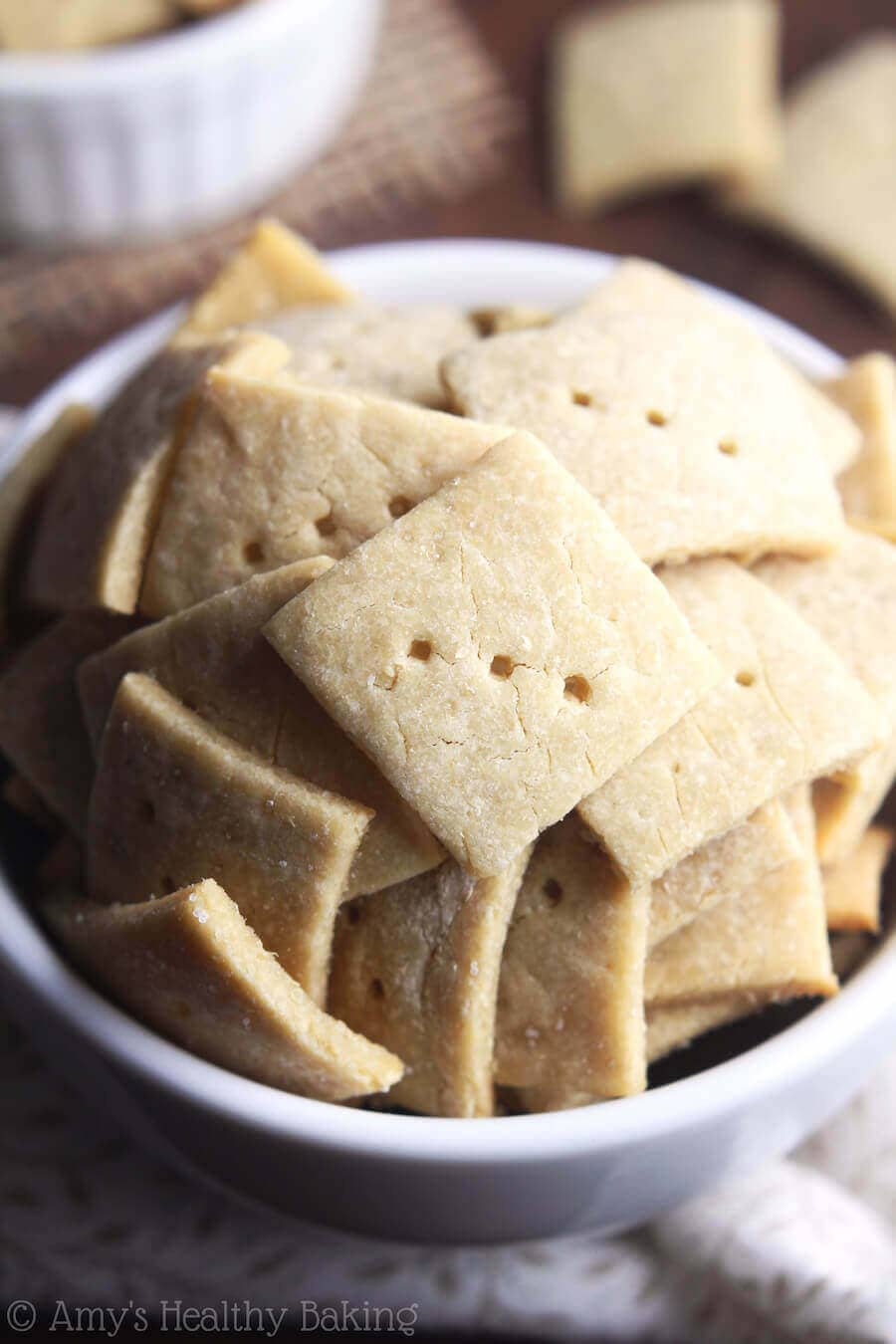 Simple Quinoa Crackers