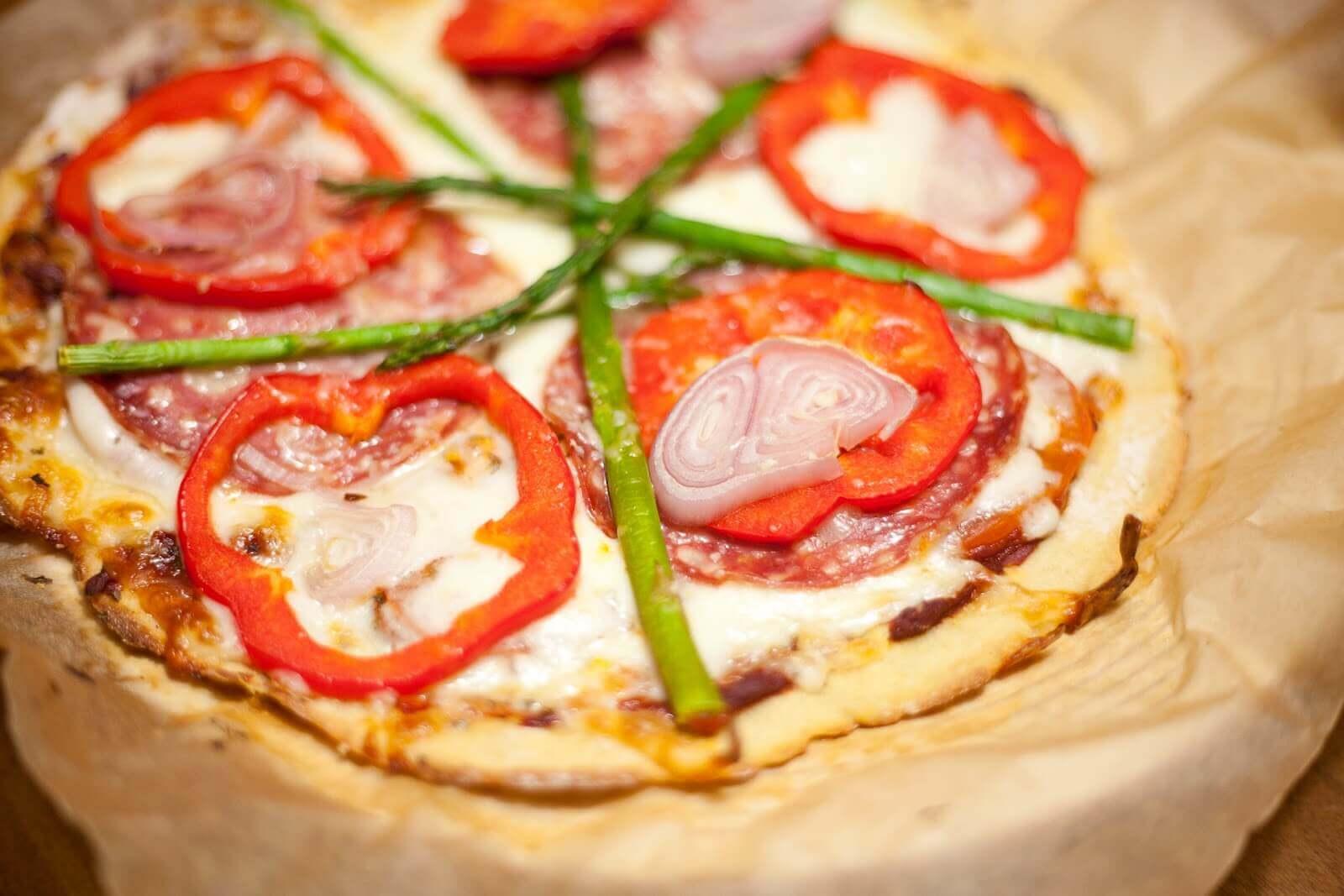 Lydia's Gluten-Free Pizza