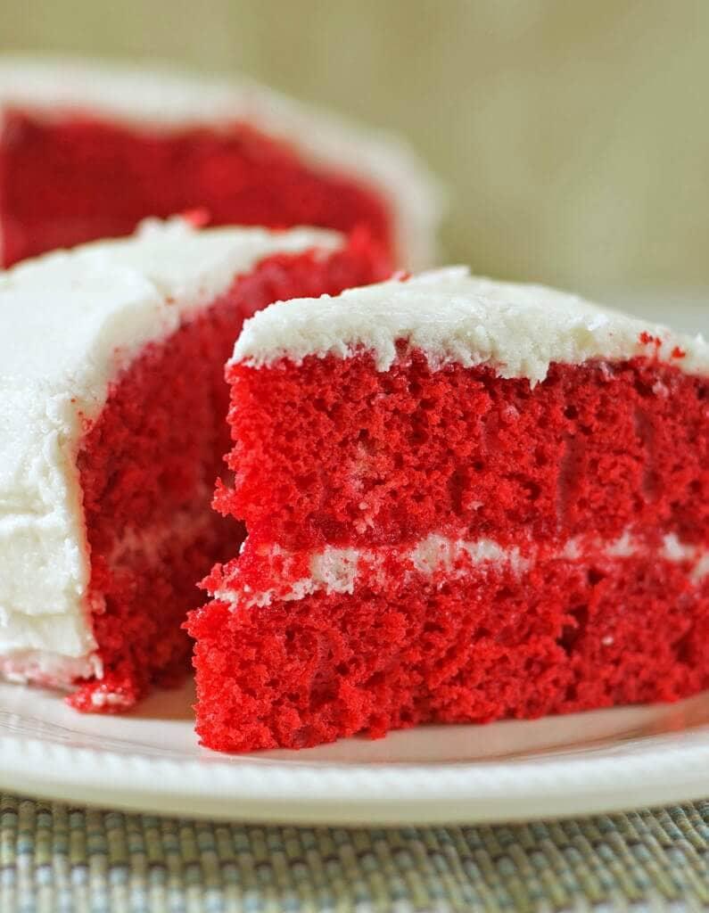 Red Velvet Cake Gluten-Free