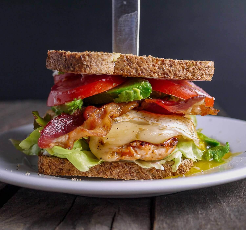 Spicy Chicken Cobb Sandwich