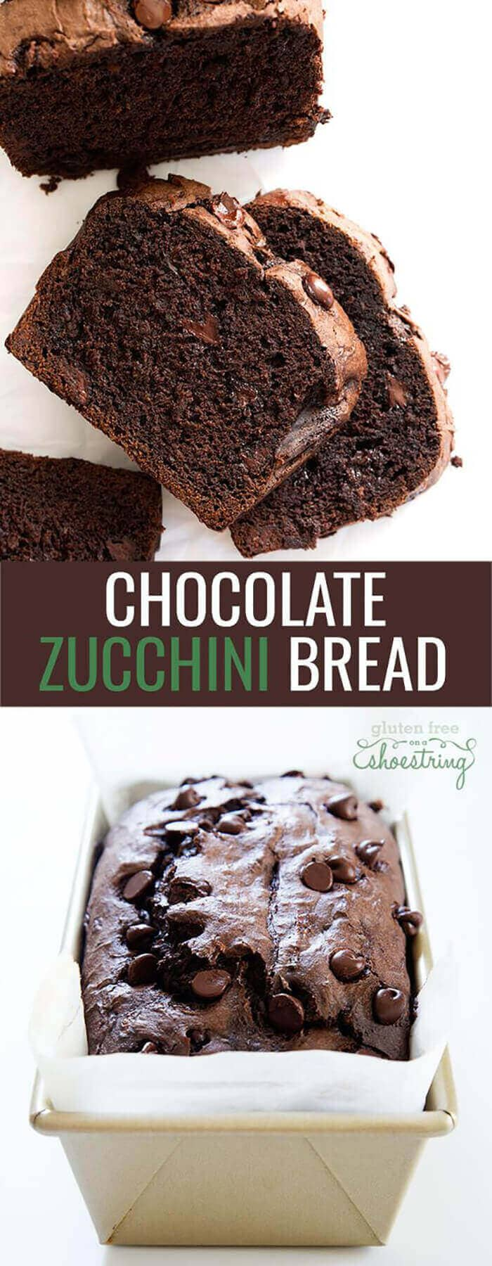 Double Chocolate Gluten-Free Zucchini Bread