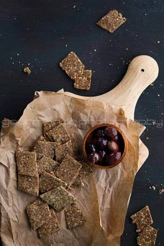 Homemade Flax and Hemp Seed Cracker Recipe