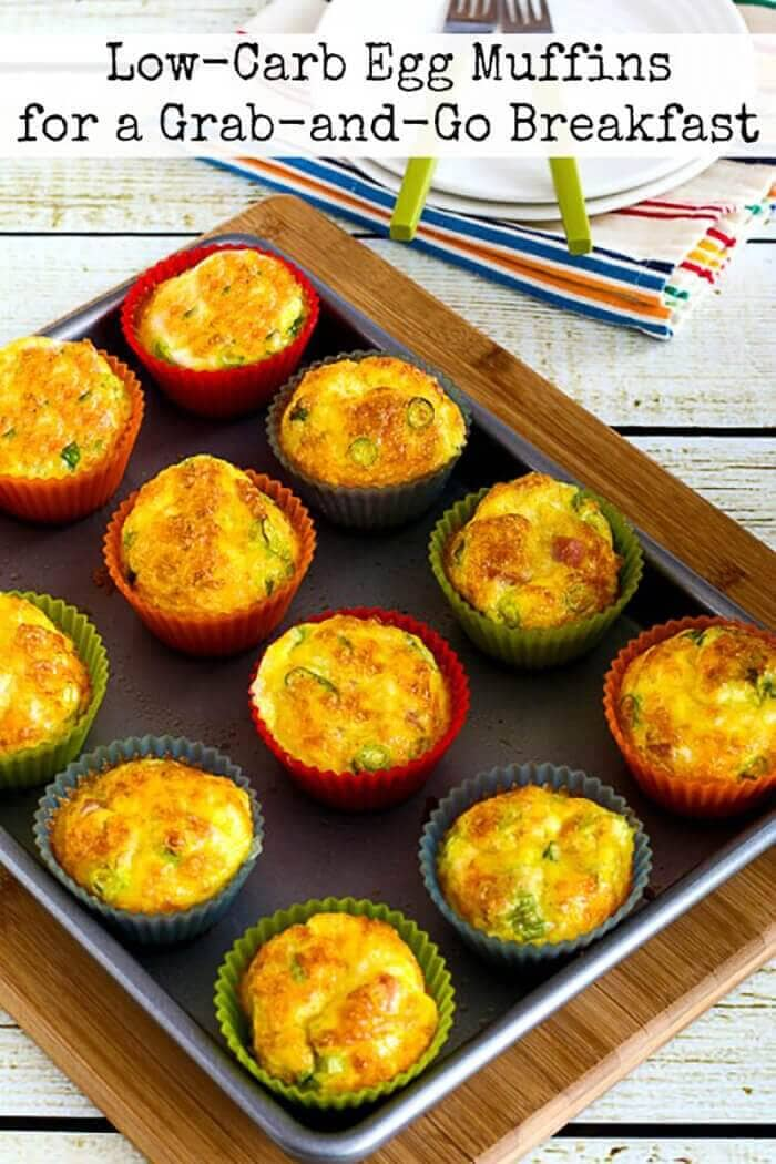 Low-Carb Egg Muffins for a Grab and Go Breakfast