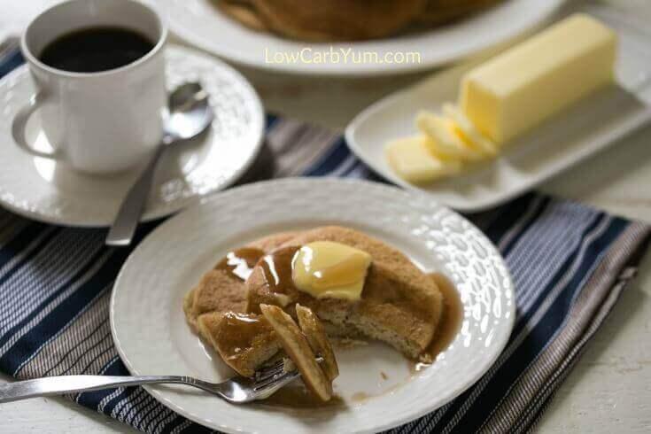 Almond Flour Pancakes Gluten-Free