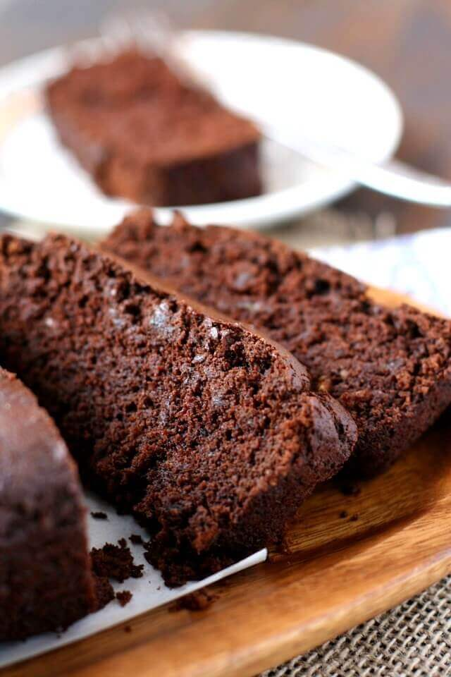 Chocolate Banana Bread (Gluten Free, Vegan, Refined Sugar Free)