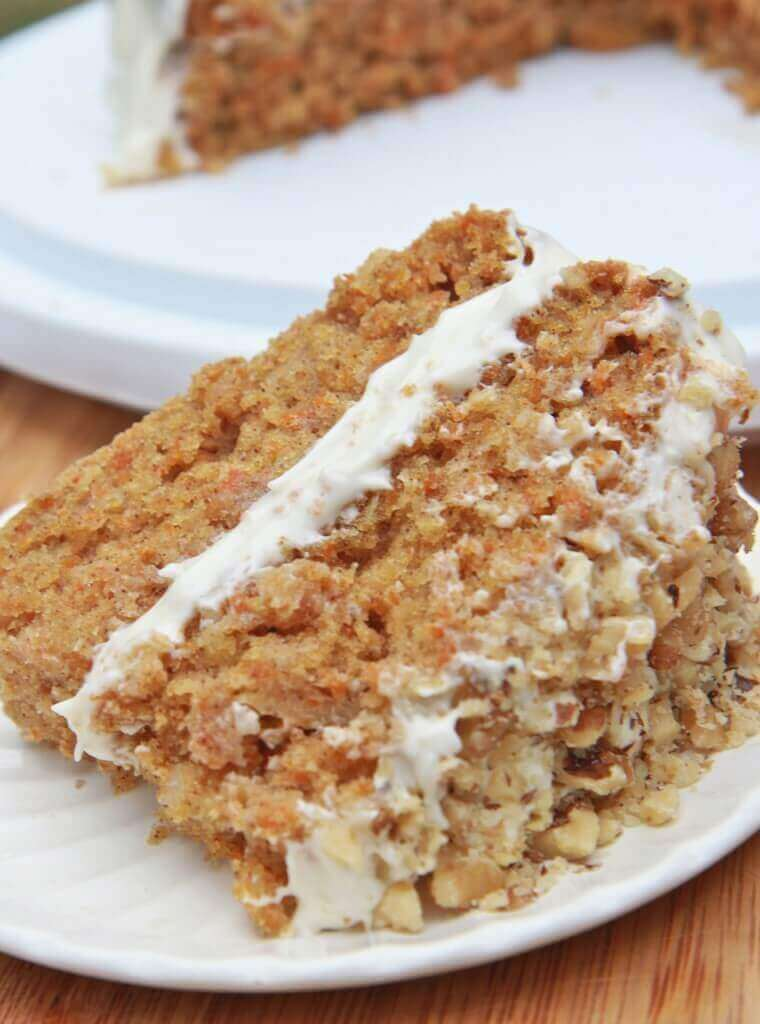 Gluten-free Carrot Cake (Moist and Fluffy)