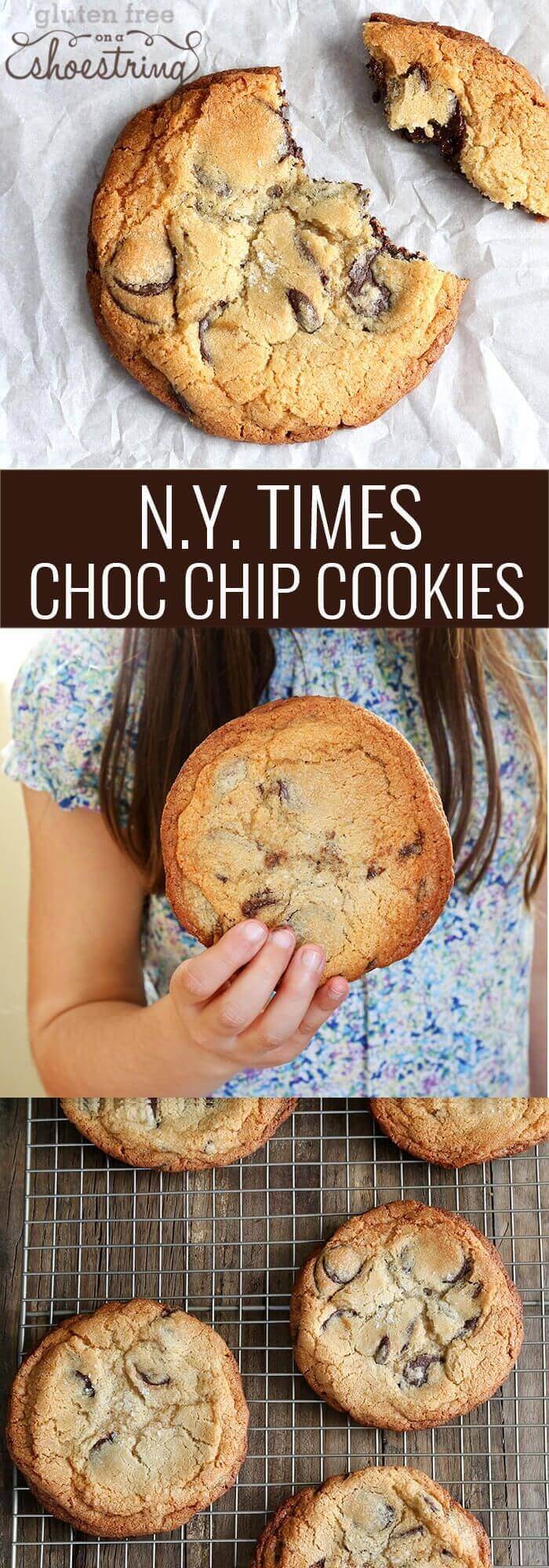 Gluten-Free New York Times Chocolate Chip Cookies