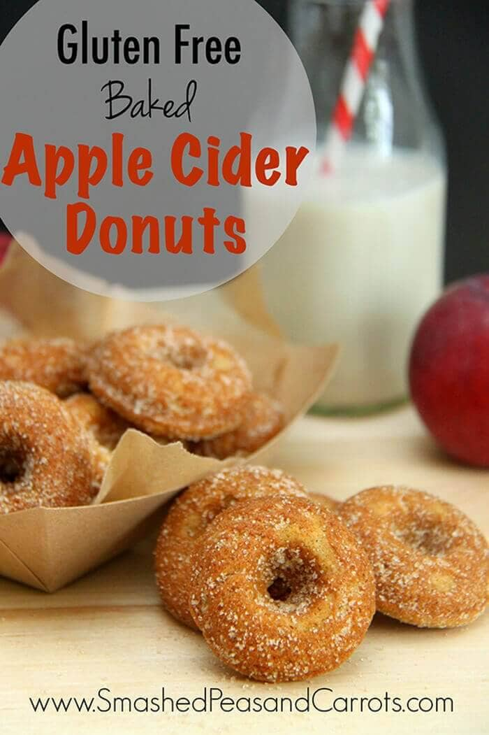 Gluten-free Baked Apple Cider Donuts