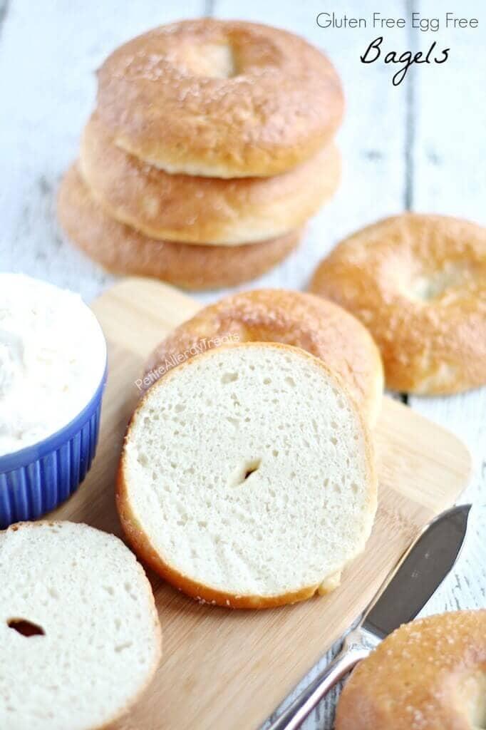 Gluten-Free Egg Free Bagels (Vegan Dairy Free)