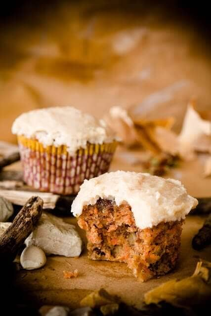Paleo Diet Carrot Cupcakes