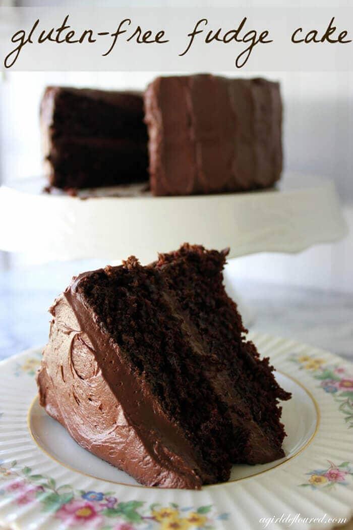 Gluten-free Fudge Cake
