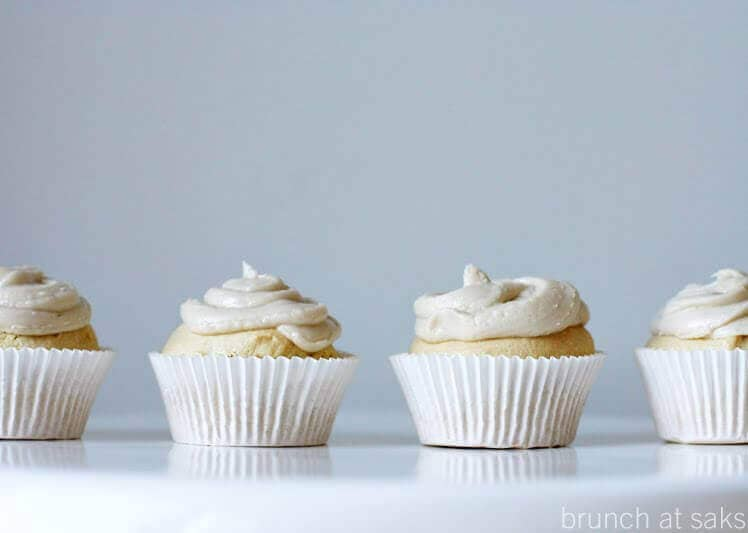 Vanilla Cupcakes with Dairy-Free Buttercream