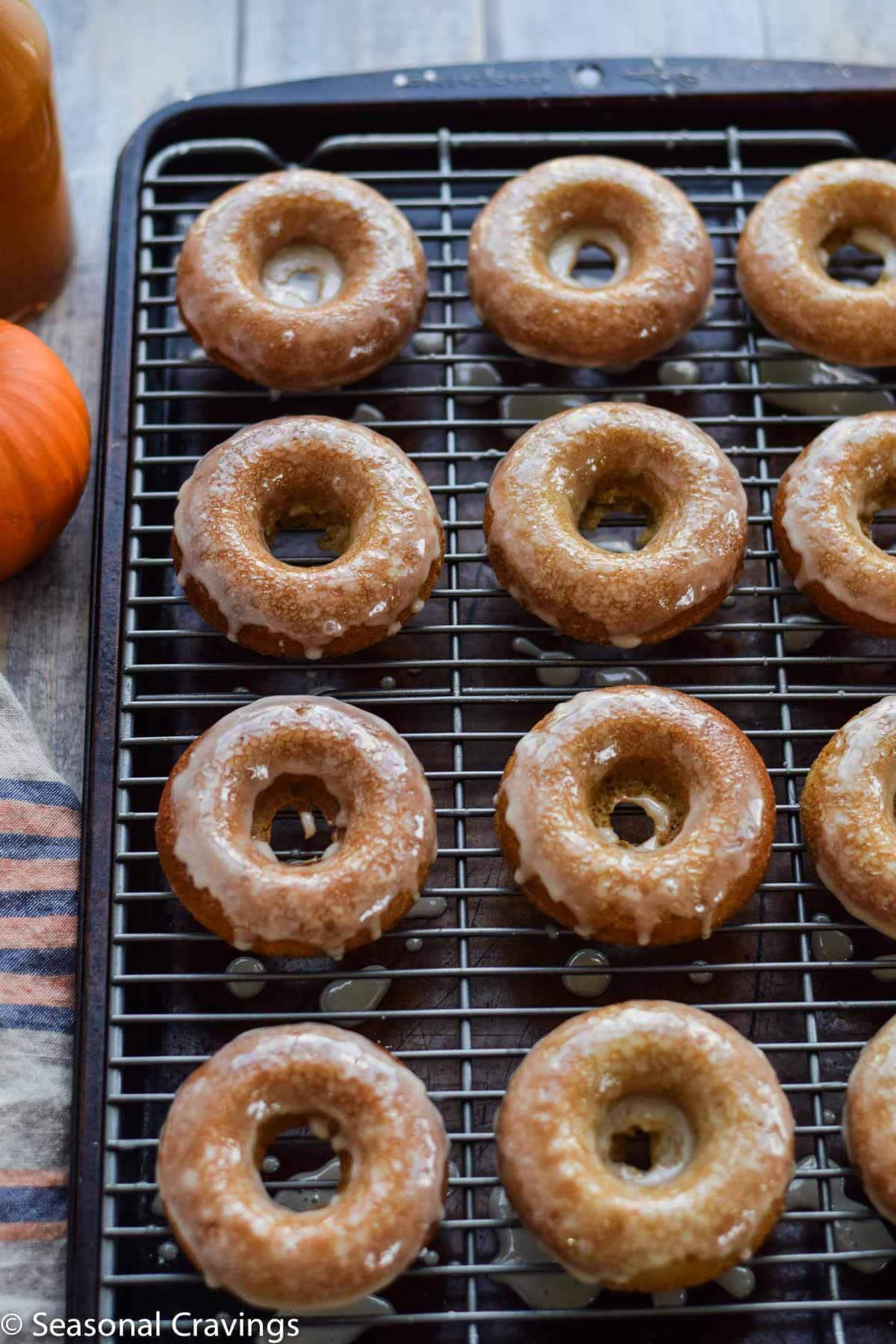 Gluten-free Apple Cider Doughnuts