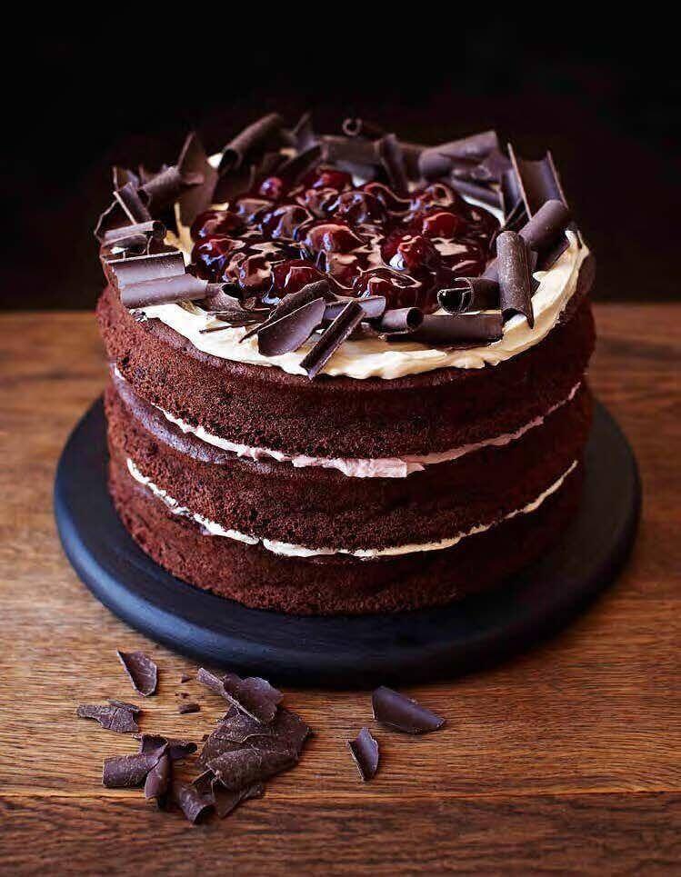 Gluten-Free Black Forest Cake