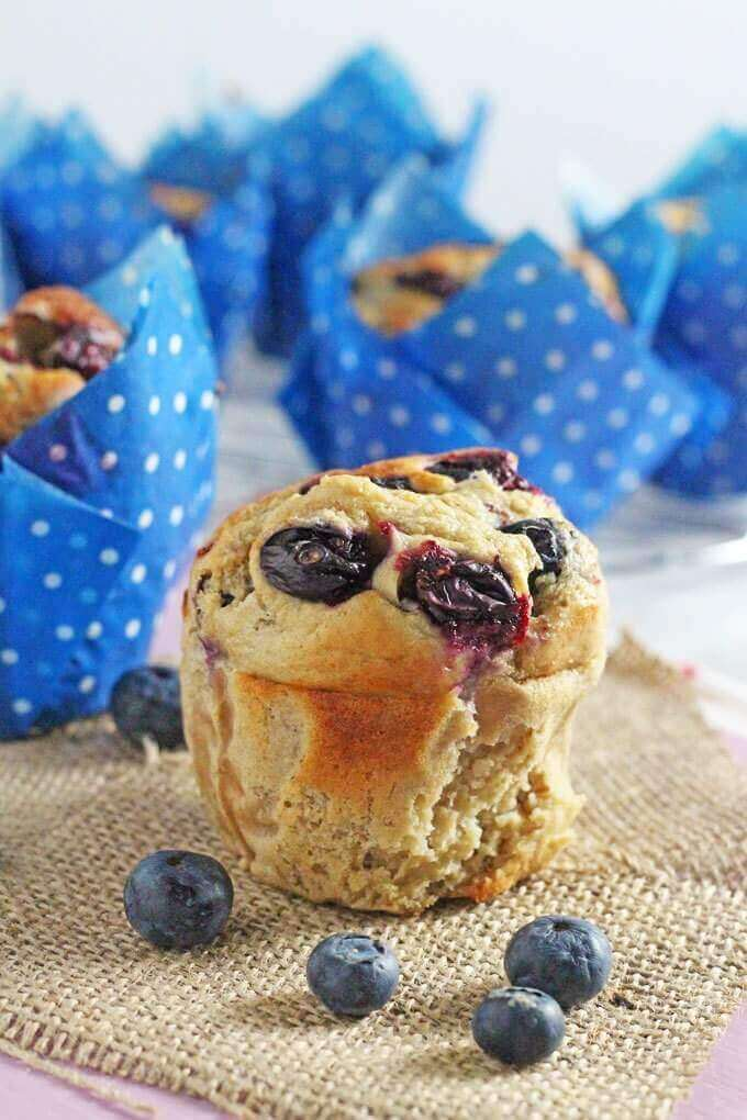 Healthy Oat and Blueberry
