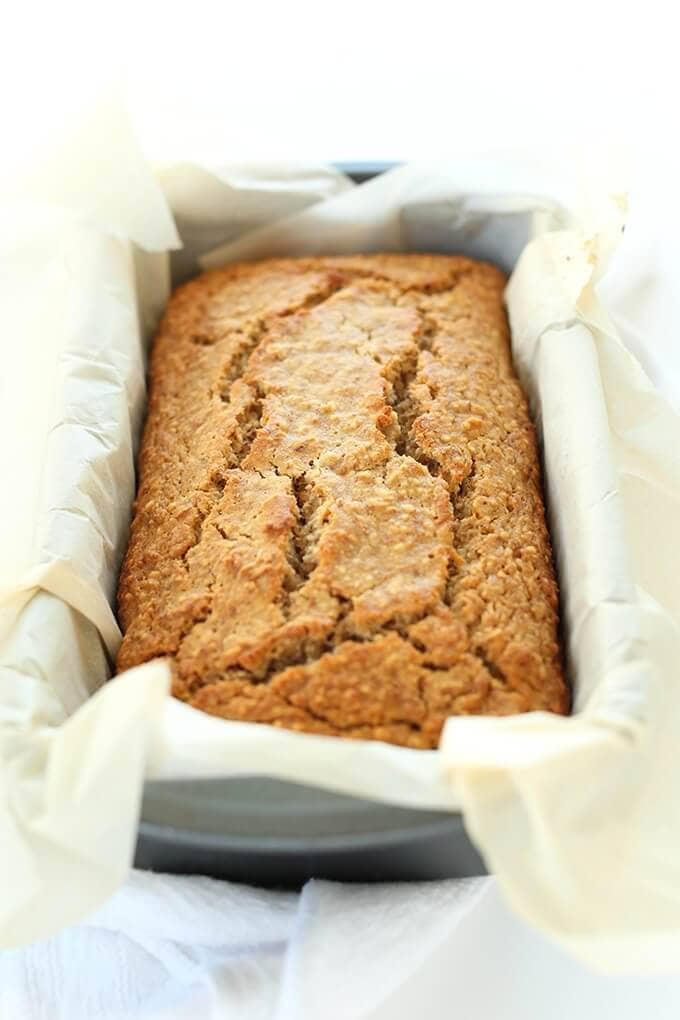 One Bowl Gluten Free Banana Bread