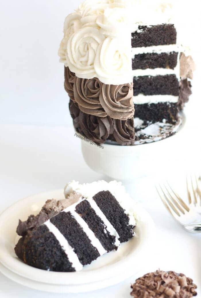 Gluten-Free Vegan Chocolate Cake (Dairy Free)