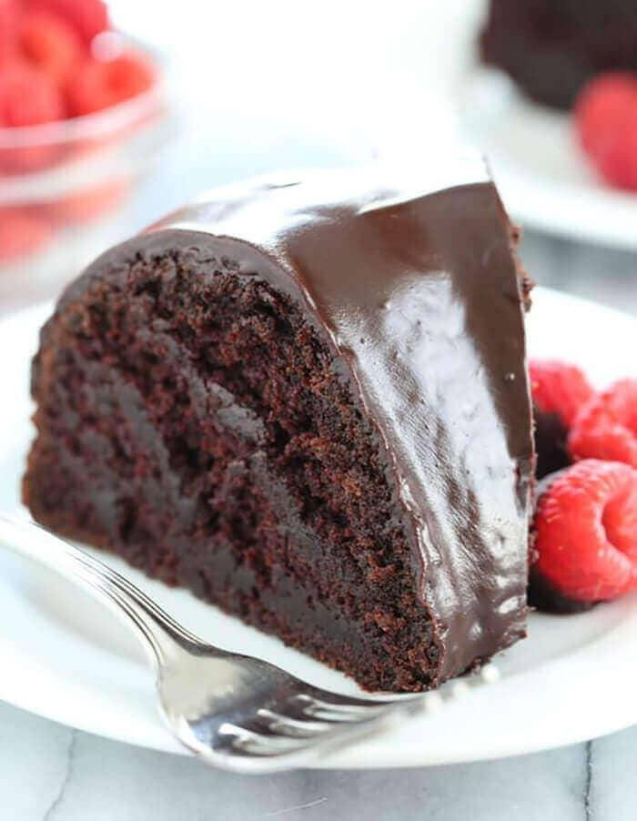 Crazy Cake Gluten-Free Chocolate Cake