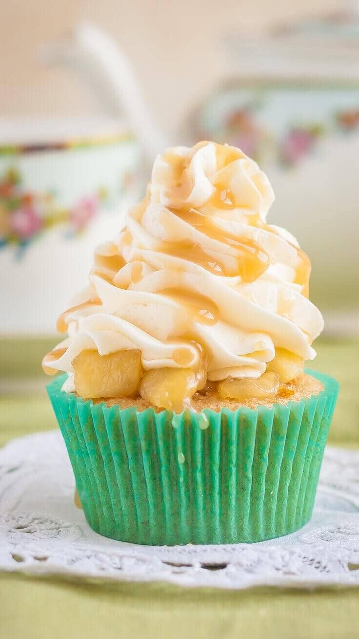 Apple Pie Cupcakes