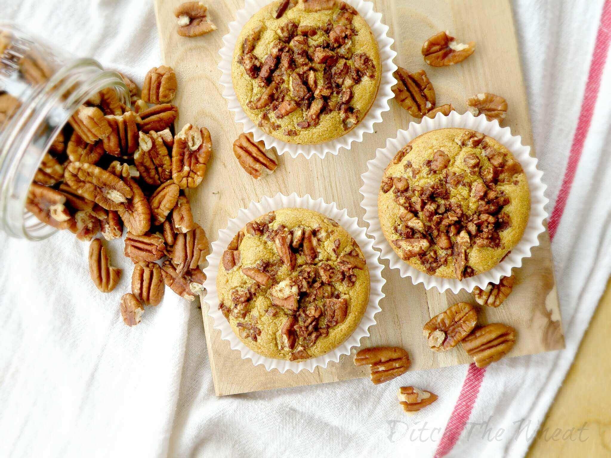 Gluten-free Maple Pecan Muffins