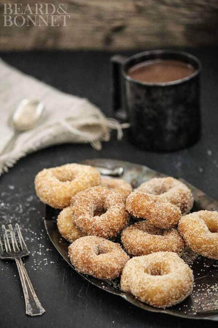 Cinnamon Sugar Donuts