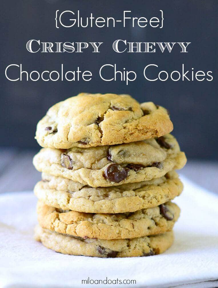 Gluten-Free Crispy Chewy Chocolate Chip Cookies