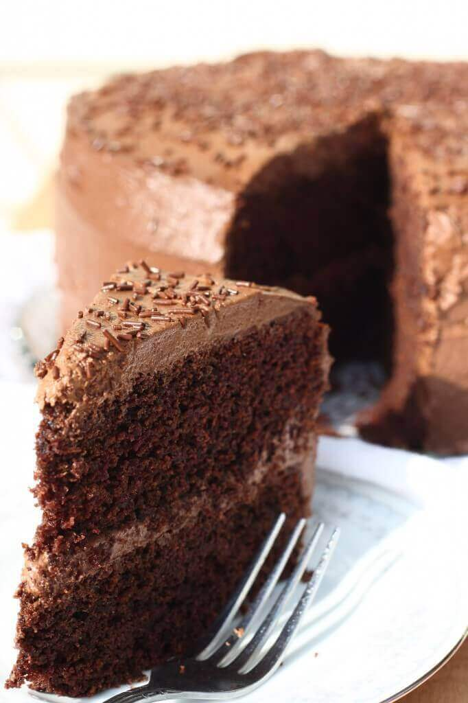 Super Moist Gluten-Free Chocolate Cake Recipe